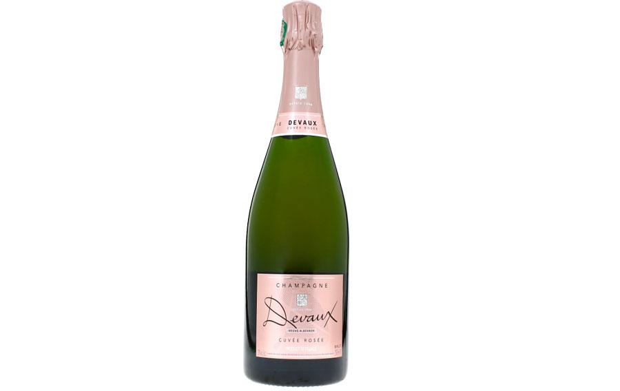Devaux Cuvee Rose NV Champagne